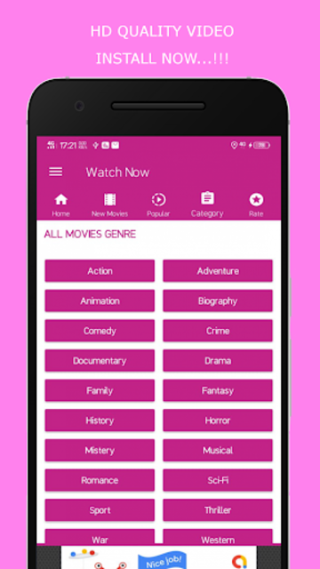 HD Movies 2019 - Watch Movies Trailer screenshot 3
