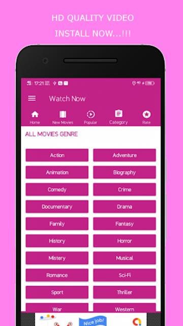 HD Movies 2019 - Watch Movies Trailer screenshot 6