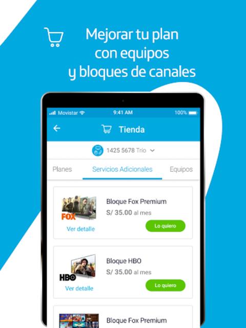 Mi Movistar Hogar screenshot 9