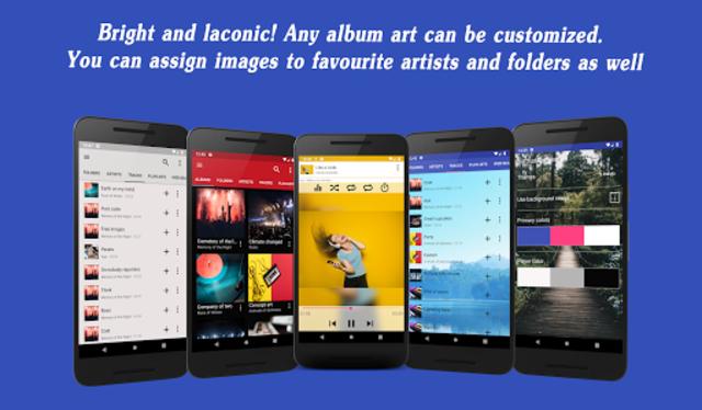 Invenio Music Player screenshot 1