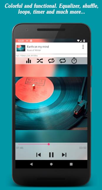 Invenio Music Player screenshot 2