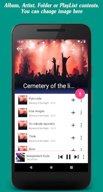Invenio Music Player screenshot 4