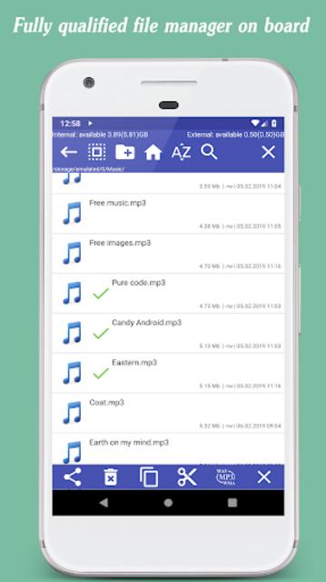 Invenio Music Player screenshot 5