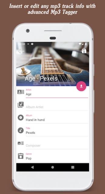 Invenio Music Player screenshot 6