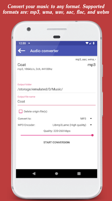 Invenio Music Player screenshot 10