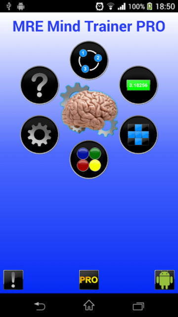 MRE Mind Trainer PRO screenshot 1