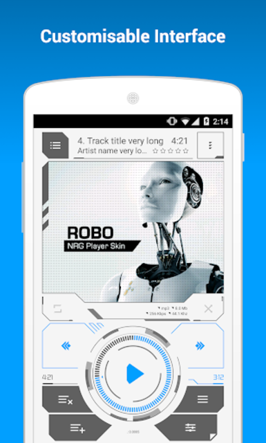 NRG Player Robo Skin screenshot 2