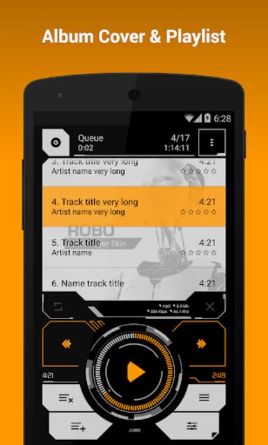 NRG Player Robo Skin screenshot 3