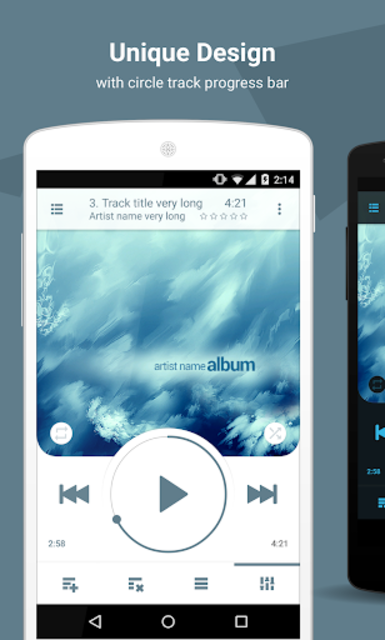 NRG Player music player screenshot 1