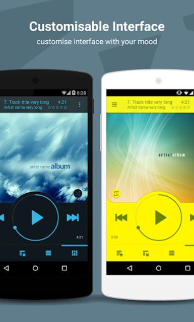 NRG Player music player screenshot 2