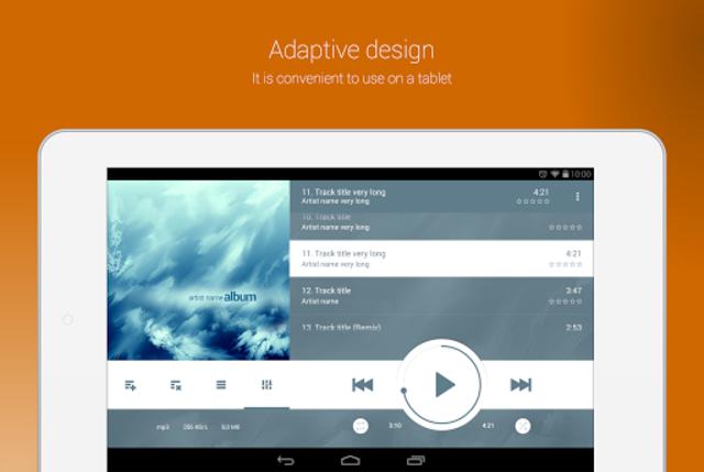 NRG Player music player screenshot 9