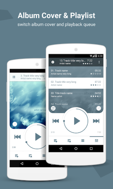 NRG Player music player screenshot 6