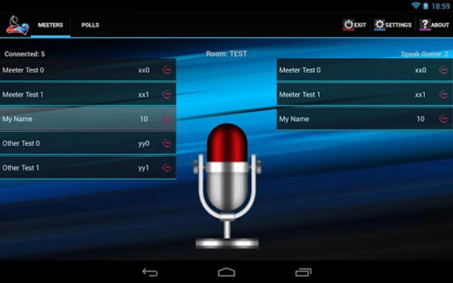 MeetRoom Manager screenshot 1