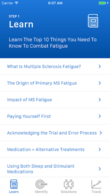 MS Fatigue Fix screenshot 3