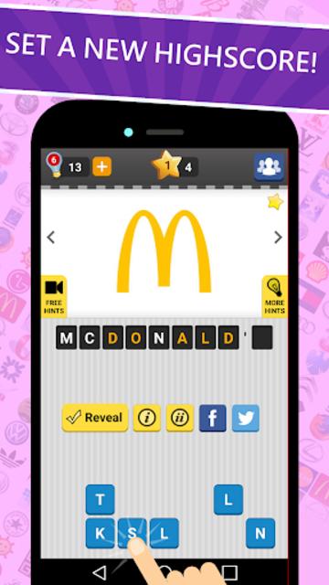 Logo Game: Guess Brand Quiz screenshot 13
