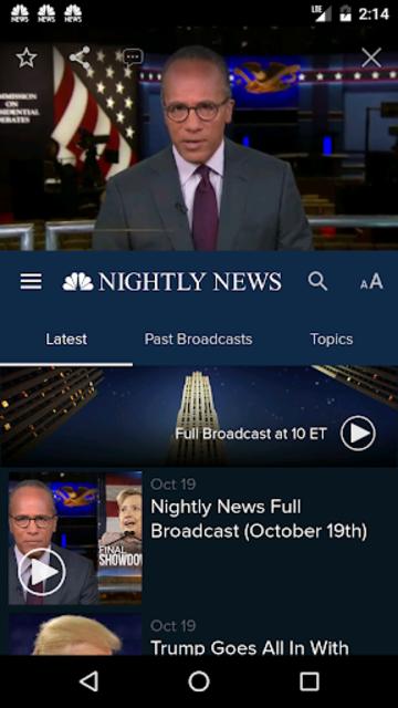 NBC Nightly News screenshot 2