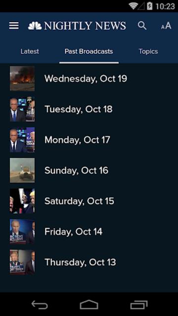 NBC Nightly News screenshot 3