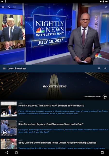 NBC Nightly News screenshot 6