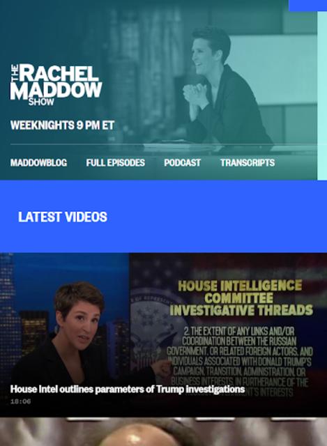 MSNBC Live TV screenshot 3