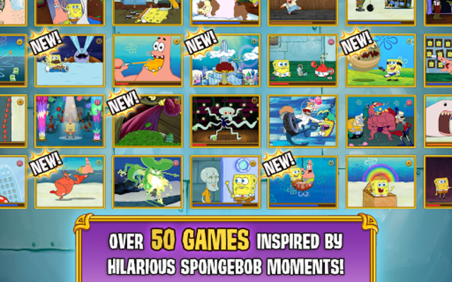 SpongeBob's Game Frenzy screenshot 11
