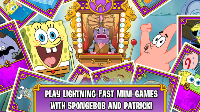 SpongeBob's Game Frenzy screenshot 1