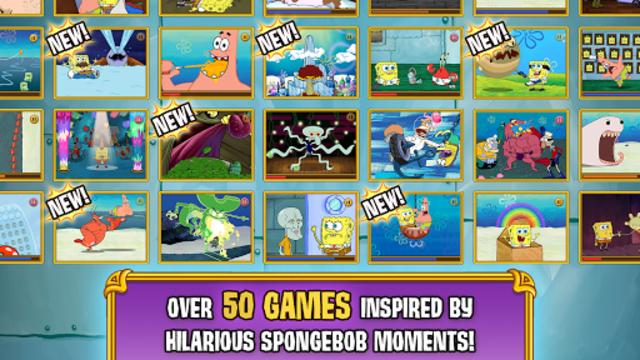 SpongeBob's Game Frenzy screenshot 2