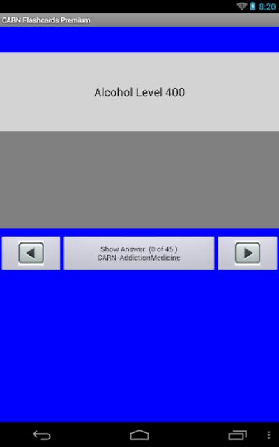 CARN Flashcards Premium screenshot 6