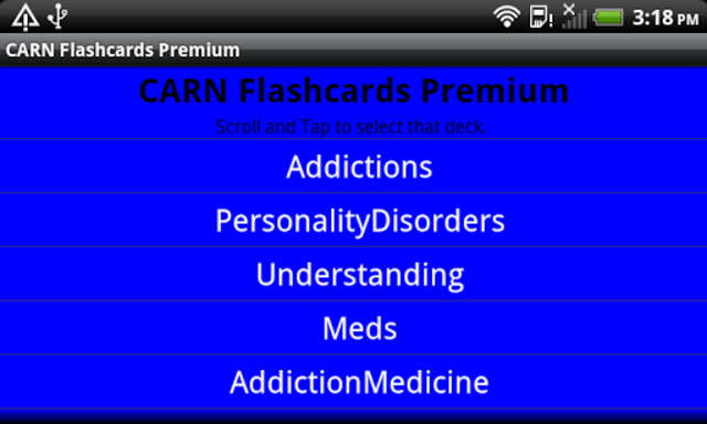 CARN Flashcards Premium screenshot 4
