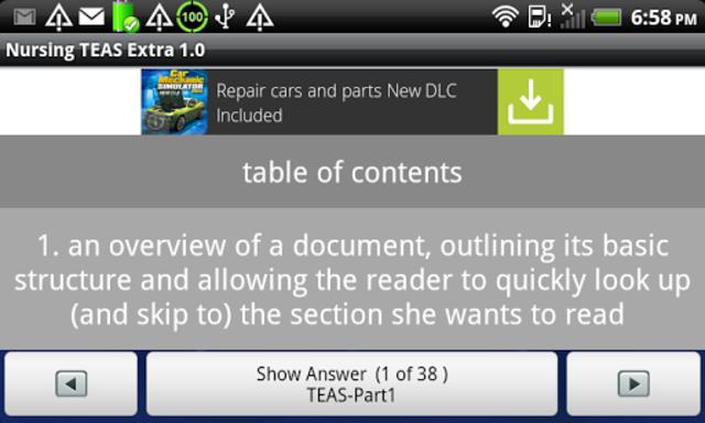 Nursing TEAS Extra screenshot 6