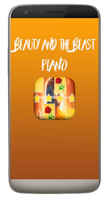 Piano Tap Beauty and The Beast screenshot 1