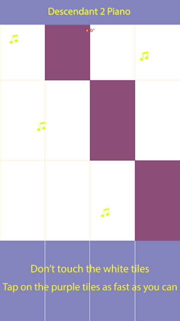 Piano Tap Ways to Be Wicked screenshot 1