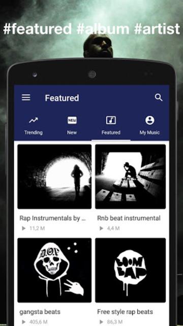 Instrumental Rap beats - Hip hop music 2019 screenshot 3