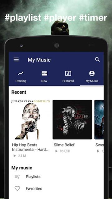 Instrumental Rap beats - Hip hop music 2019 screenshot 4