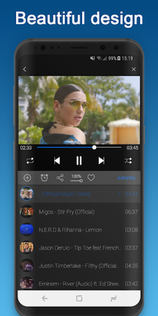 BG Player screenshot 3