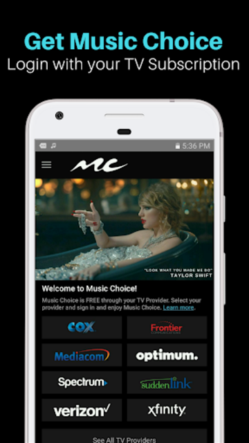 Music Choice: TV Music Channels On The Go screenshot 5