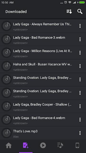 Download Music Mp3 screenshot 1