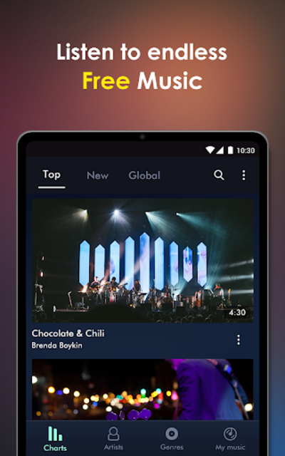 Free Music - MH Player screenshot 15