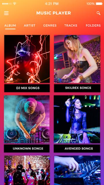 Free Music Player - Offline Music screenshot 1
