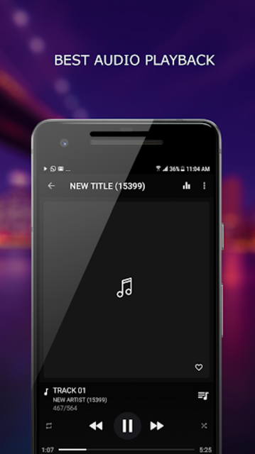 MP3 Player screenshot 1