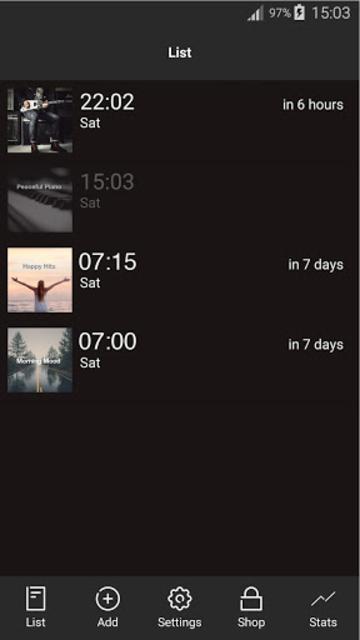 Mornings - Alarm for Spotify screenshot 1