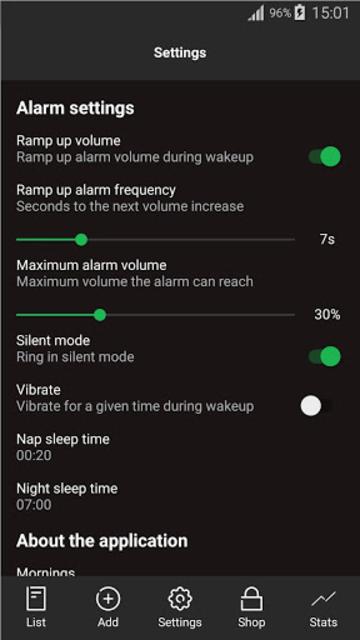 Mornings - Alarm for Spotify screenshot 5