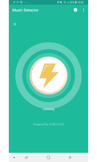 Music Detector screenshot 1