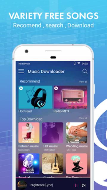 Music downloader - Best music downloader 2019 screenshot 1