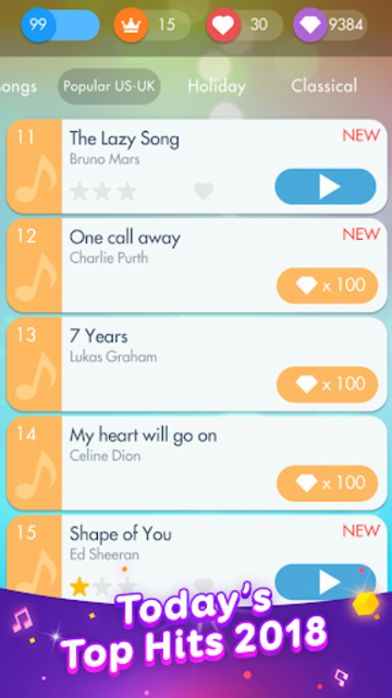 Piano Games - Free Music Piano Challenge 2019 screenshot 22