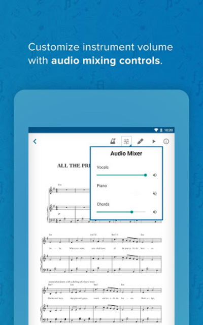 Musicnotes Sheet Music Player screenshot 22