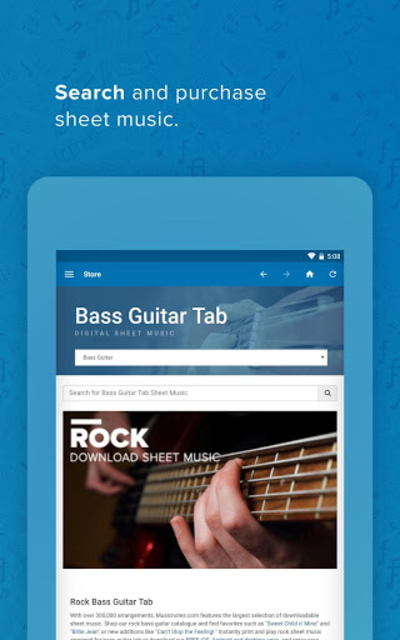 Musicnotes Sheet Music Player screenshot 24