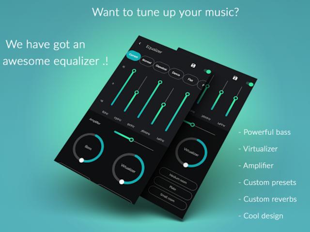 Musicana Pro Music Player screenshot 2