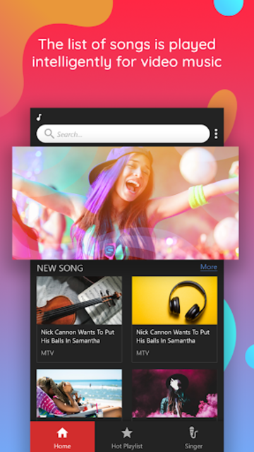 Free music for Youtube: Music Player - Video Music screenshot 3