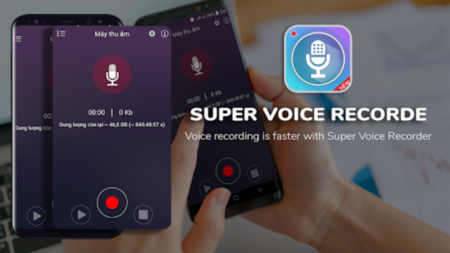 Super Digital Voice Recorder 2019 screenshot 1