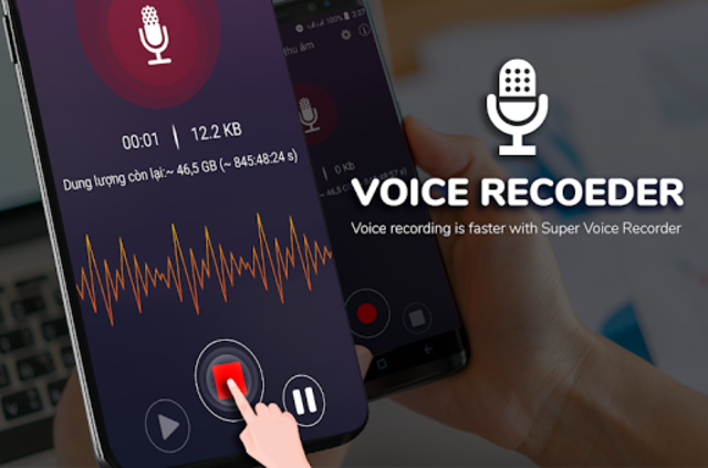 Super Digital Voice Recorder 2019 screenshot 2